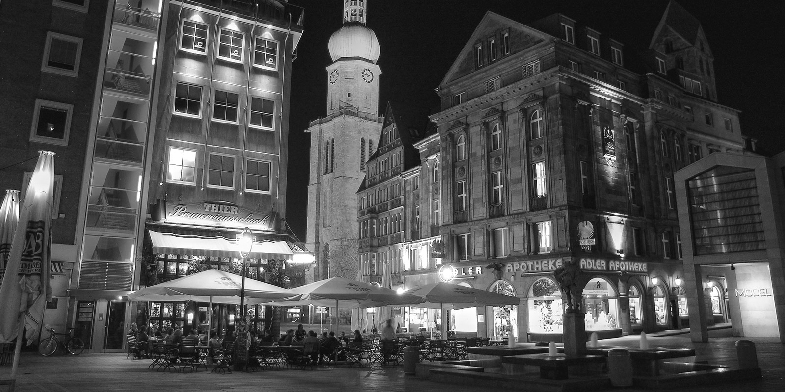 Dortmund at night