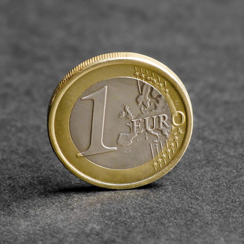 1 Euro Münze; Quelle: iStockphoto