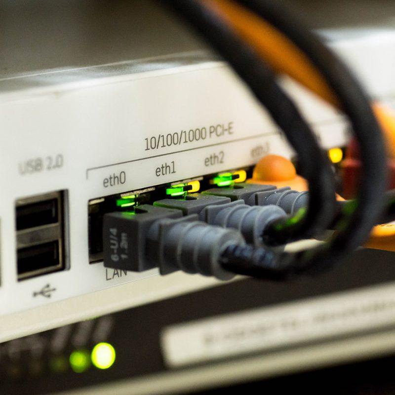 Ethernet Kabel LAN Technik Verbindungen