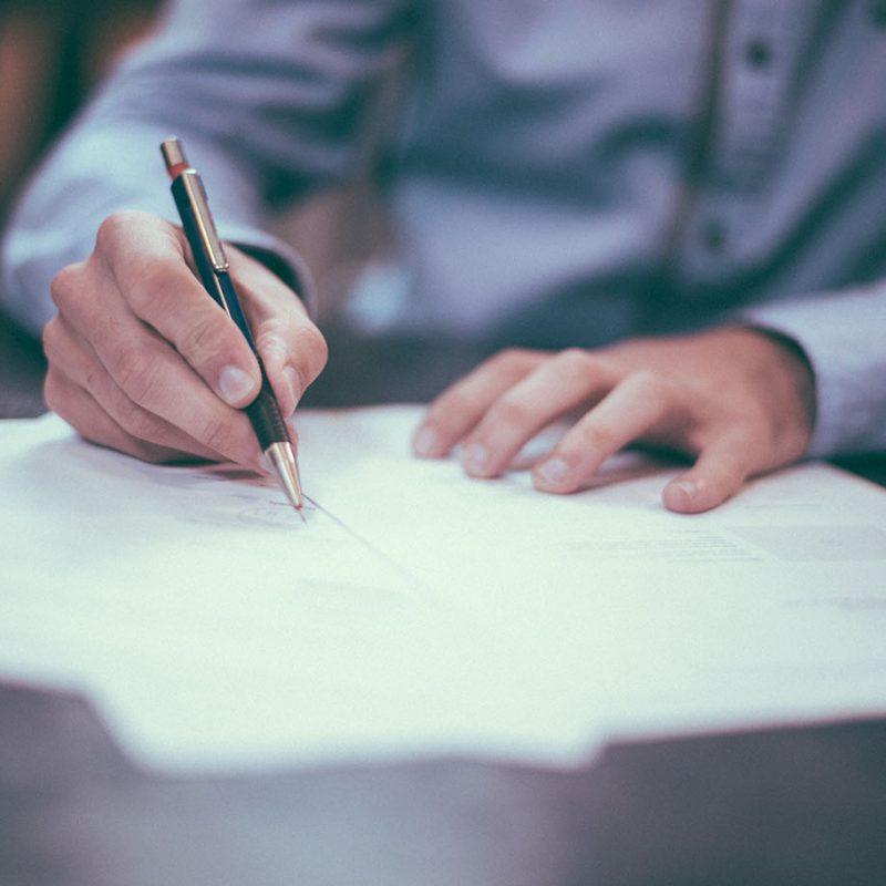 Dokument unterzeichnen